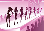 Fashion Show Clip Art